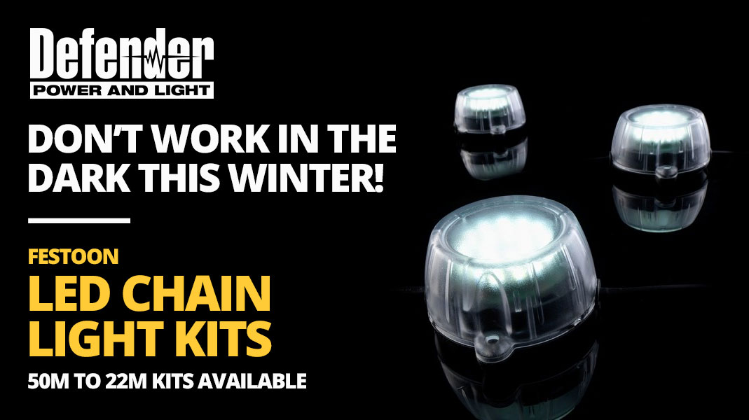 Defender Festion LED Chain Lights Promotion