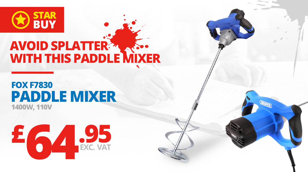 Fox Paddle Mixer Promotion