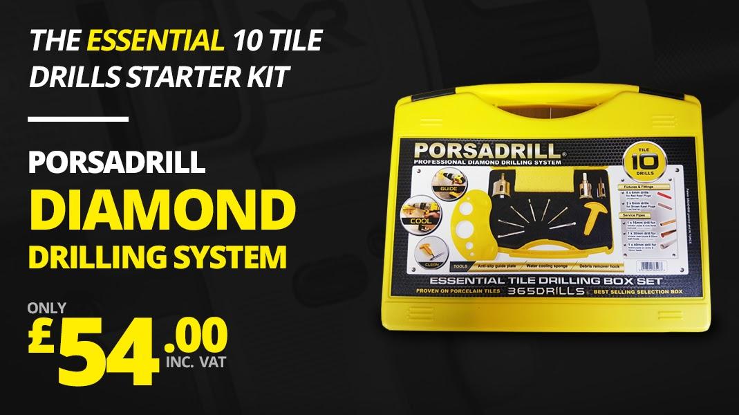 PORSADRILL PROFESSIONAL DIAMOND DRILLING SYSTEM
