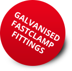Galvanised FastClamp Fittings